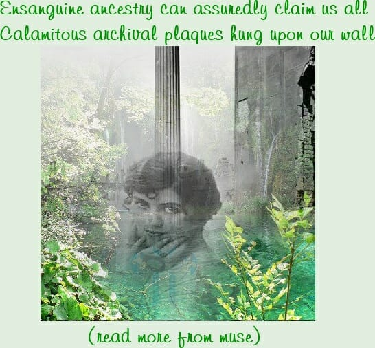 Ensanguine Ancestry - Introspective Poetry by Muse