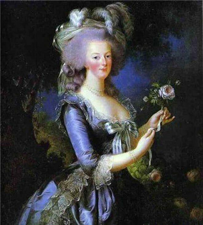Marie Antoinette Historical Art Painting
