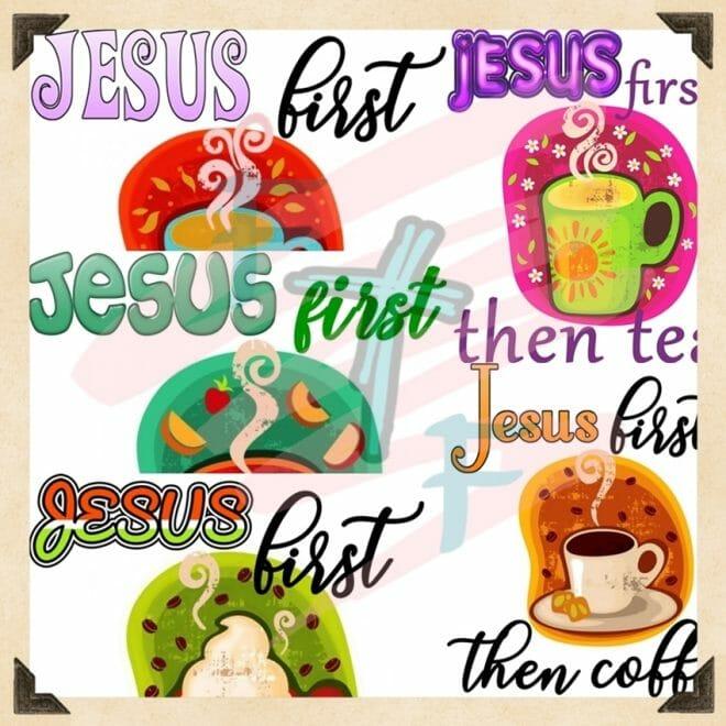 Coffee Jesus and Me T-shirts