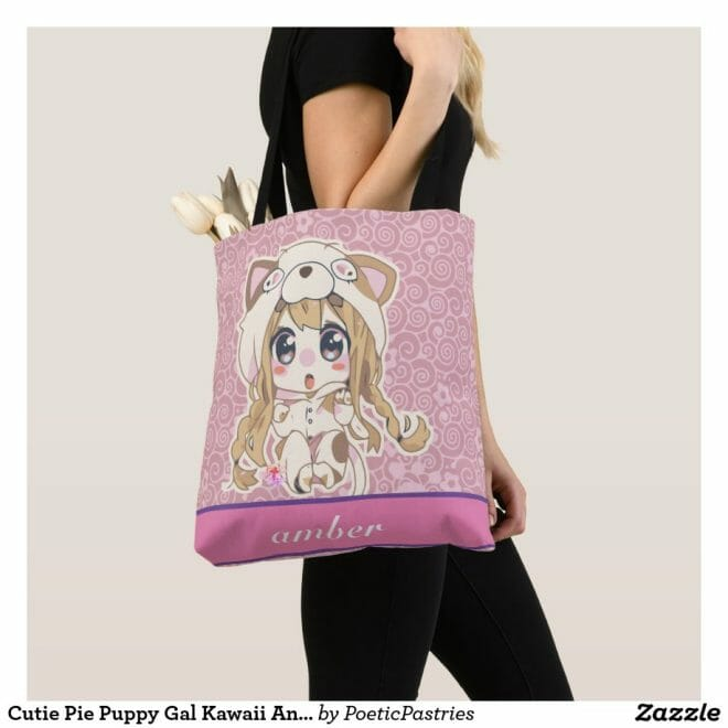 Kawaii Pink Diaper Bag