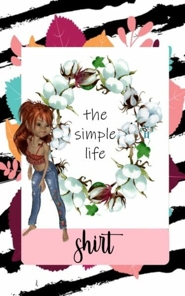 T-Shirt Design - The Simple Life