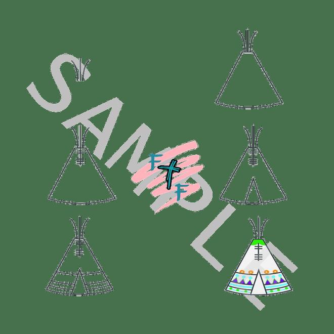Illustration Tent