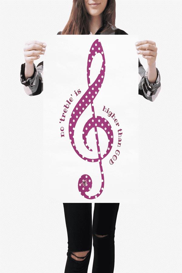 Christian Music Graphic Art