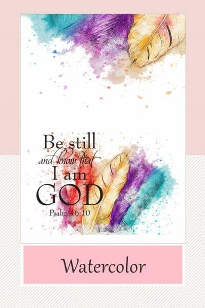 Faith Watercolor