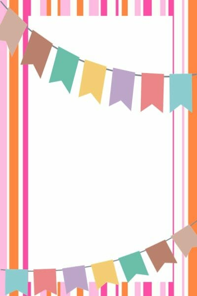 Carnival_White_Plaque_on_Stripes_with_Flying_High_Letter_Banner