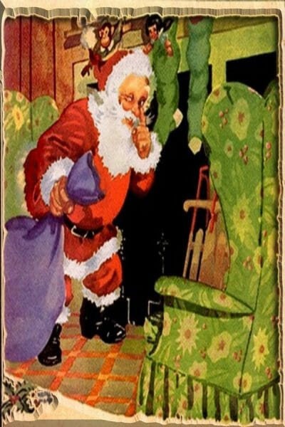 Free-Vintage-Remastered-Christmas-Santa-Postcard-from_Poetic_Pastries-600x900