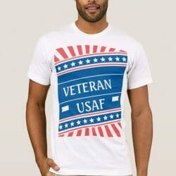 Clothing Gallery - Patriotic T-Shirt USAF