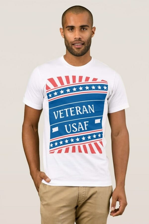 Clothing Gallery - Patriotic T-Shirt USAF