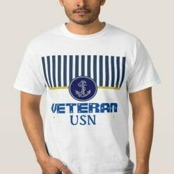 Clothing Gallery - Patriotic T-Shirt -USN