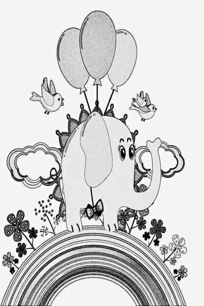 Eddie-Elephant-by-Poetic-Pastries-graphite-sketch