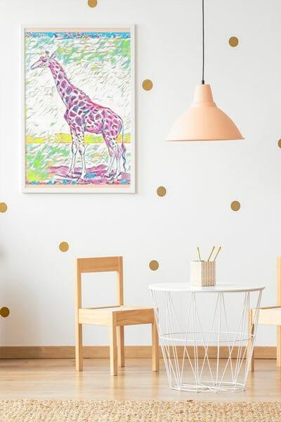 Giraffe-wall-art-printable-by-poetic-pastries