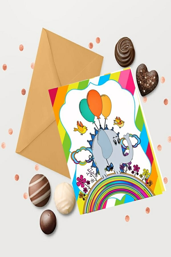 Inspiration-for-DIY-use-of Poetic-Pastries-art-printables-shown-as-greeting-card-stationery