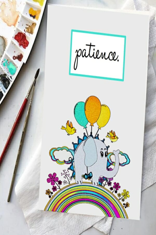 Inspiration-for-DIY-use-of Poetic-Pastries-art-printables-shown-as-personalized-card-stationery