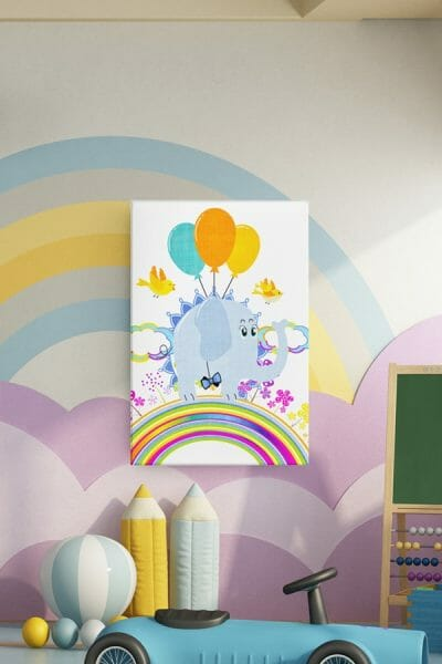 Pachyderm-Eddie-Flying-High-Print-Placement-Childs-Room