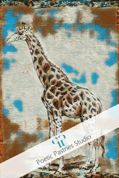 main-product-animal-art-two-pack-giraffe-wall-print