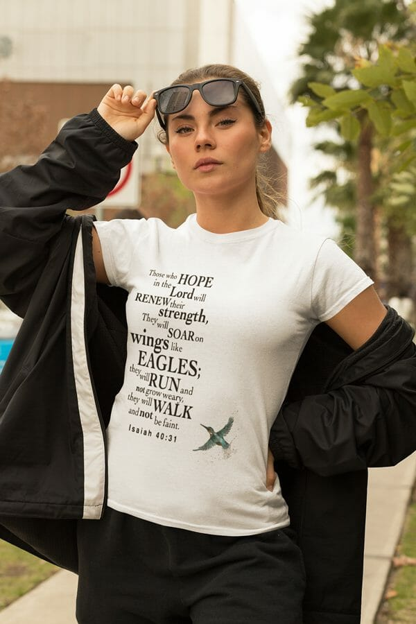 Soar-Like-Eagles-hummingbird-by-Poetic-Pastries-Studio-artist-Pansylee-VanMeteren-aka-Muse-featuring-art-used-as-Fashion4Faith-Christian-t-shirt